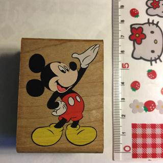 ディズニー(Disney)のミッキースタンプB(はんこ)
