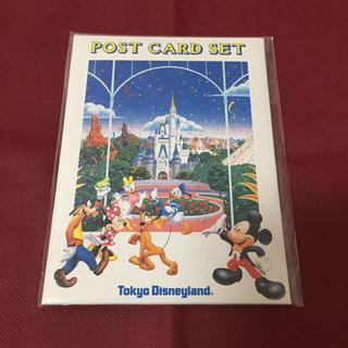 ディズニー(Disney)のポストカード セット(7枚入り)(写真/ポストカード)