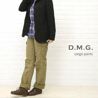 ディーエムジー(D.M.G)のD.M.G. ドミンゴ★バックサテンカーゴパンツ モカブラウン S(ワークパンツ/カーゴパンツ)