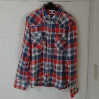 ベドウィン(BEDWIN)のEDWIN ヘヴィーフランネル ウエスタン チェックシャツ(シャツ)