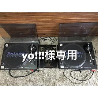 テクノス(TECHNOS)のTechnics ターンテーブル MK5 ミキサー セット(ターンテーブル)