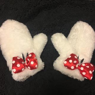 ディズニー(Disney)のミニーマウス 手袋 大人用(手袋)