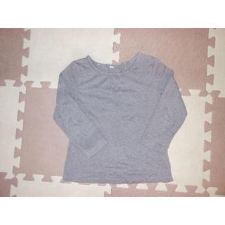 美品★277無印良品のブラウンのシャツ100★険:ラルフローレン・コムサデモード