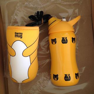 サーモマグ(thermo mug)のthermo mug(サーモマグ) アニマルボトル  新品未使用 ケースあり(水筒)