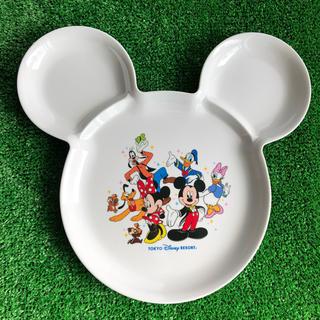 ディズニー(Disney)のディズニー プレート ミッキー 皿 食器(離乳食器セット)