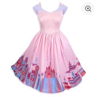 ディズニー(Disney)のWDW ファンタジーランドドレス♡海外限定♡新品♡XS(日本Sサイズ(ひざ丈ワンピース)