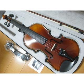 【美虎杢】 工房製 ハンドメイド バイオリン 4/4 新品付属品セット(ヴァイオリン)