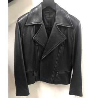 ダナキャラン(Donna Karan)のダナキャラン ライダースジャケット ブラック(ライダースジャケット)