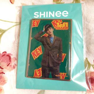 シャイニー(SHINee)の新品 キー 公式 ピンバッジ (K-POP/アジア)