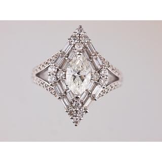 天然ダイヤモンドリング【新品仕上げ】(リング(指輪))