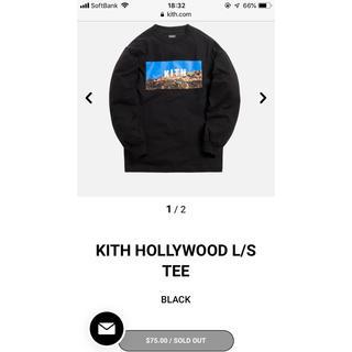 シュプリーム(Supreme)のKITH HOLLY WOOD L/S TEE Sサイズ(Tシャツ/カットソー(七分/長袖))