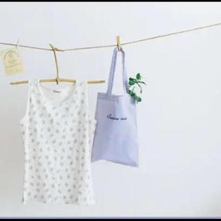 サマンサモスモス(SM2)のノベルティ 花柄インナー&エコバッグ(ノベルティグッズ)