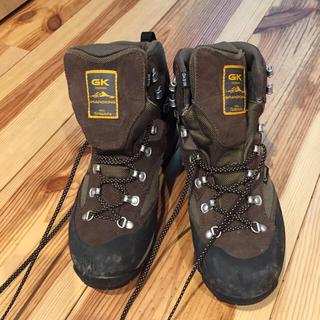 キャラバン(Caravan)のトレッキングシューズ 登山靴 GK81M(登山用品)