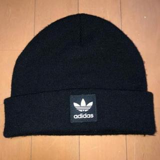 アディダス(adidas)のadida ニット帽(ニット帽/ビーニー)