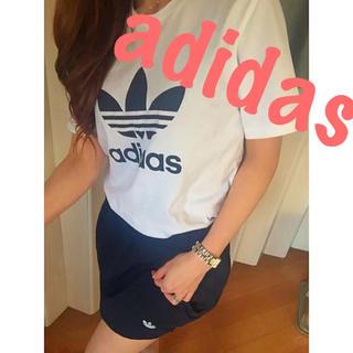 アディダス(adidas)のアディダス♡楽ちん♡スウェットスカート♡(ミニスカート)
