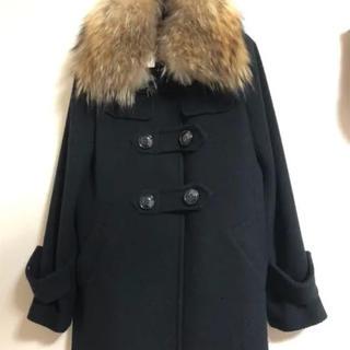 ロイヤルパーティー(ROYAL PARTY)のブラック毛皮ファーコート(毛皮/ファーコート)