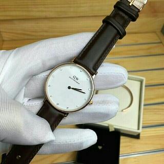 ダニエルウェリントン(Daniel Wellington)のダークブラウン34MM 大人気 ダニエルウェリントン 腕時計とバングル セット(腕時計(アナログ))