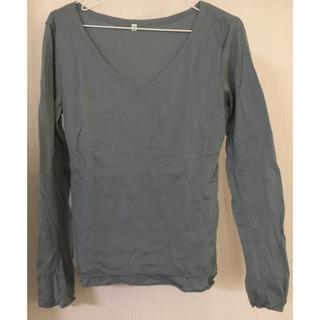 ムジルシリョウヒン(MUJI (無印良品))の無印良品 ロンT トップス(Tシャツ(長袖/七分))