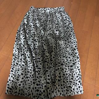 ティアンエクート(TIENS ecoute)のレオパードスカート♡TIENS(ロングスカート)