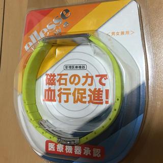 エレッセ(ellesse)の新品 Ellesse エレッセ 磁気ブレスレット kanwa EK101 ライム(その他)