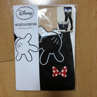 Disney - ディズニー プリントタイツ ストッキング 新品