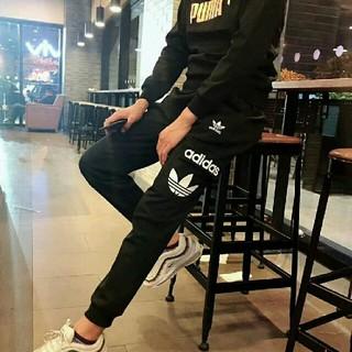 アディダス(adidas)のアディダス スキニージャージ パンツ(チノパン)
