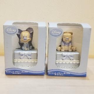 ディズニー(Disney)のミッキー プー BOX (メモリアル ボックス) 記念 誕生 2点セット(その他)