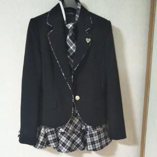 女の子スーツ ジャケット、スカート、ネクタイ●卒業式にいかがですか?●160(ドレス/フォーマル)