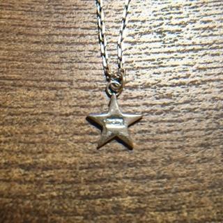 アイロニー(IRONY)の【お値下】irony 星型ネックレス silver925(ネックレス)