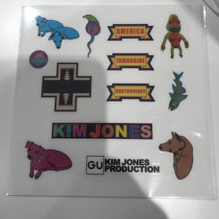 キムジョーンズ(KIM JONES)の新品限定キムジョーンズステッカー gu ジーユー(その他)