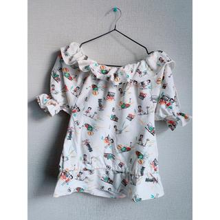 スライ(SLY)のSLY ベティ 白Tシャツ オフショル(Tシャツ(半袖/袖なし))