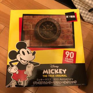 ディズニー(Disney)のミッキーマウス プレミアムクロック(掛時計/柱時計)