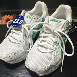 アシックス(asics)の④アシックス 22.0cm ランニングシューズ 白靴(スニーカー)