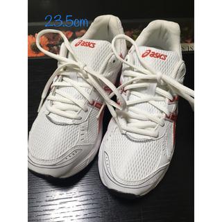 アシックス(asics)の⑥アシックス 23.5cm ランニングシューズ 白靴(スニーカー)