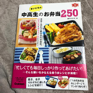 ガッケン(学研)の毎日の中高生のお弁当250(その他)