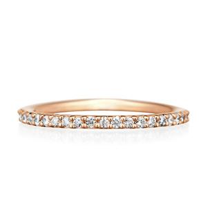 ヨンドシー(4℃)の4℃ K10ピンクゴールド ピンキーリング(リング(指輪))
