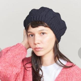 ビューティアンドユースユナイテッドアローズ(BEAUTY&YOUTH UNITED ARROWS)の【新品】ニットベレー帽  ビューティ&ユース ユナイテッドアローズ レディス(ハンチング/ベレー帽)