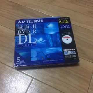 ミツビシ(三菱)のMITSUBISHI DVD-R  DL 5枚パック(その他)