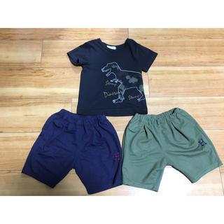 ハッカ(HAKKA)のhakka Tシャツ 100 ハーフパンツ 90(パンツ/スパッツ)