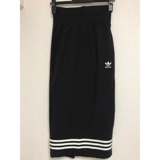 アディダス(adidas)のアディダス adidas タイトスカート(ひざ丈スカート)