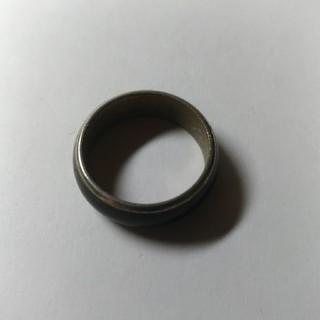 メンズ ピンキーリング 黒  (リング(指輪))