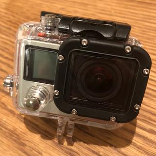 ゴープロ(GoPro)のGoPro hero4 シルバー エディション(コンパクトデジタルカメラ)