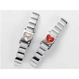 アニエスベー(agnes b.)のアニエスベー時計 「From My Heart」限定時計 赤 電池交換 送料込み(腕時計)