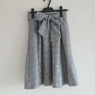 ギャルフィット(GAL FIT)のグレンチェック スカート(ひざ丈スカート)