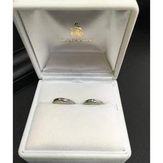 ランバン(LANVIN)のLANVIN  ランバン  結婚指輪  Pt1000  7.5号  14号(リング(指輪))