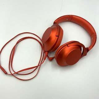ソニー(SONY)のSONY ヘッドホン MDR-100A レッド 赤 ハイレゾ音源対応 動作品(ヘッドフォン/イヤフォン)
