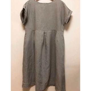 ネストローブ(nest Robe)のnest  robe  ネストローブ     リネンワンピース(ひざ丈ワンピース)