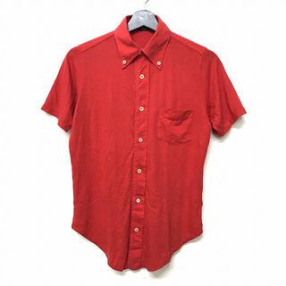 ザノーネ(ZANONE)のザノーネ ZANONE カットソー ポロシャツ 半袖 ボタンダウン 赤 レッド(ポロシャツ)