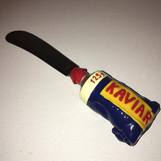 サガフォルム(Sagaform)の北欧雑貨 サガフォルム キャビアチューブのバターナイフ (調理道具/製菓道具)
