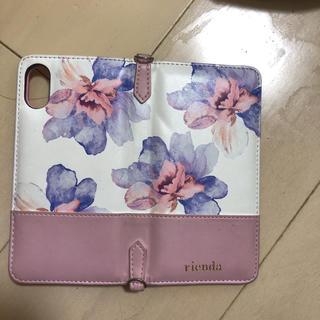 リエンダ(rienda)のrienda iPhoneXケース(iPhoneケース)